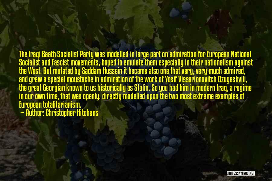 Great Socialist Quotes By Christopher Hitchens