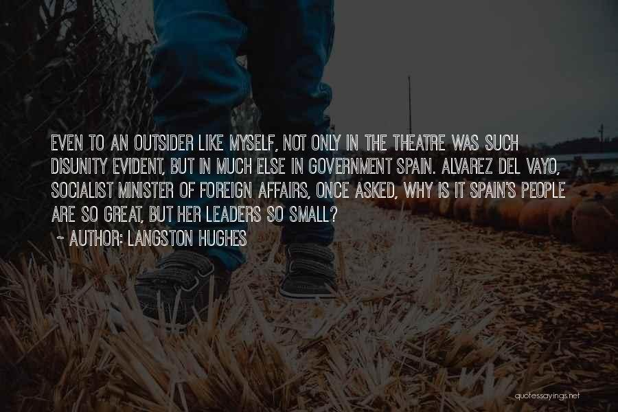Great Socialist Quotes By Langston Hughes