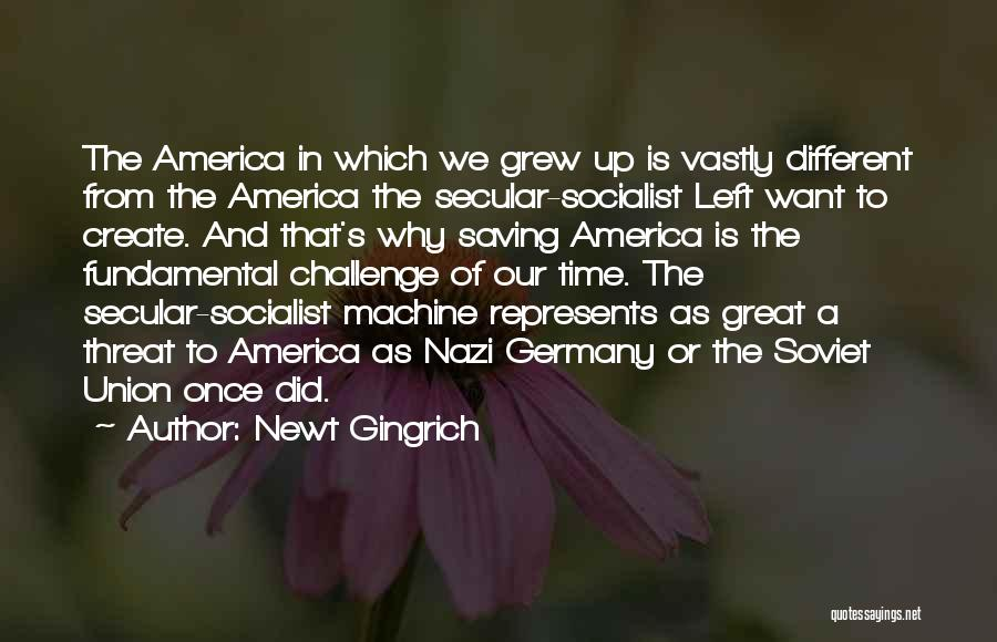 Great Socialist Quotes By Newt Gingrich