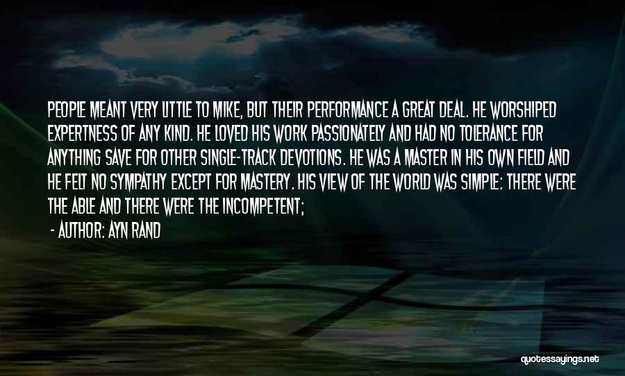 Great View Quotes By Ayn Rand