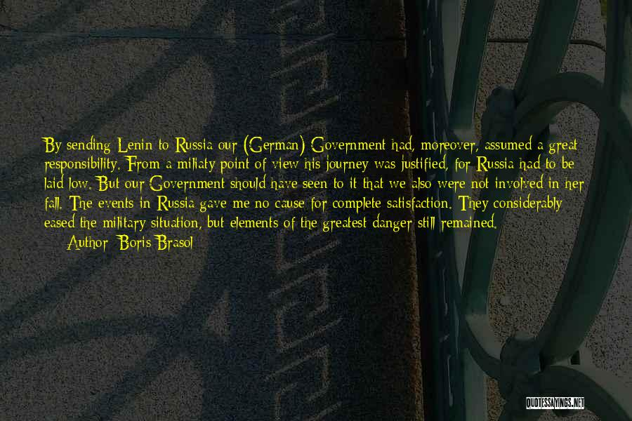 Great View Quotes By Boris Brasol