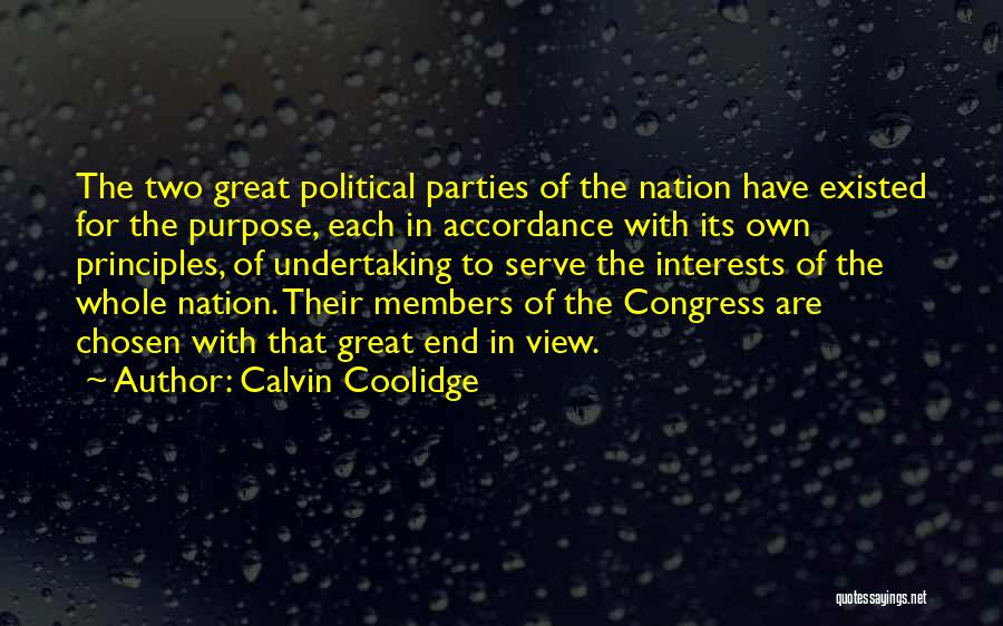 Great View Quotes By Calvin Coolidge