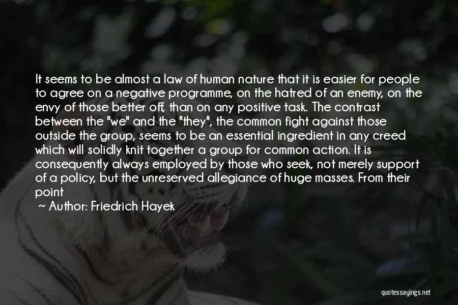 Great View Quotes By Friedrich Hayek