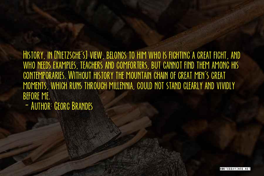 Great View Quotes By Georg Brandes