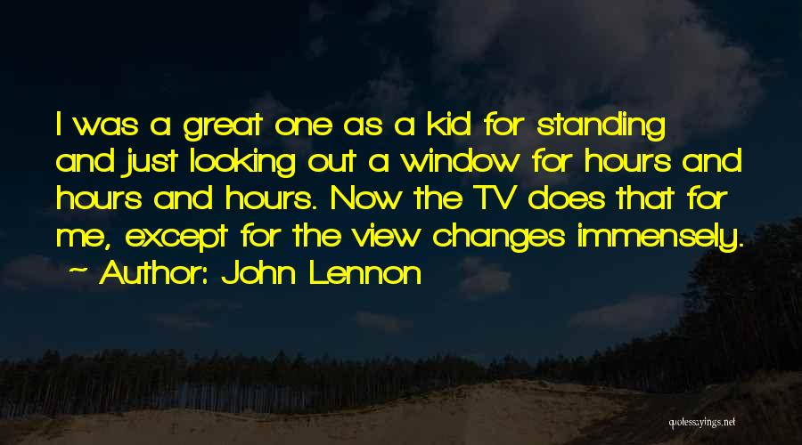 Great View Quotes By John Lennon