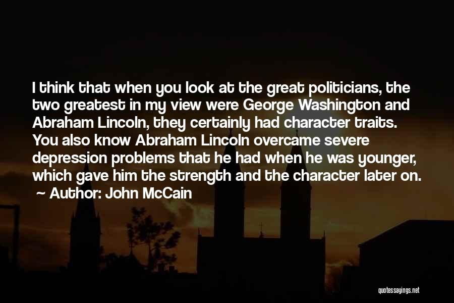 Great View Quotes By John McCain