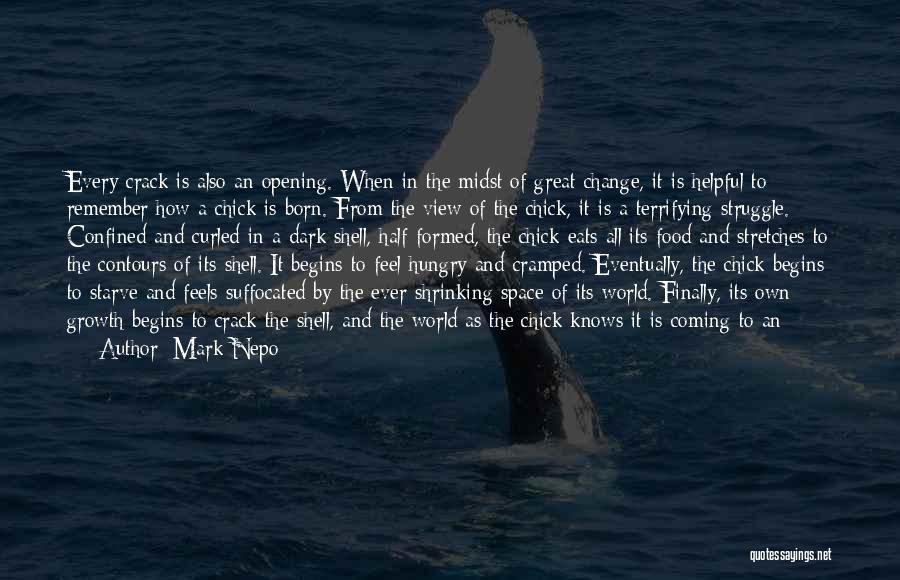 Great View Quotes By Mark Nepo