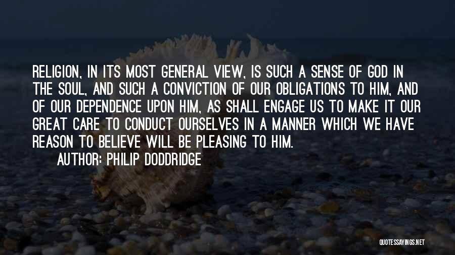 Great View Quotes By Philip Doddridge