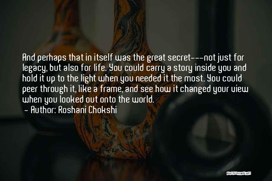 Great View Quotes By Roshani Chokshi