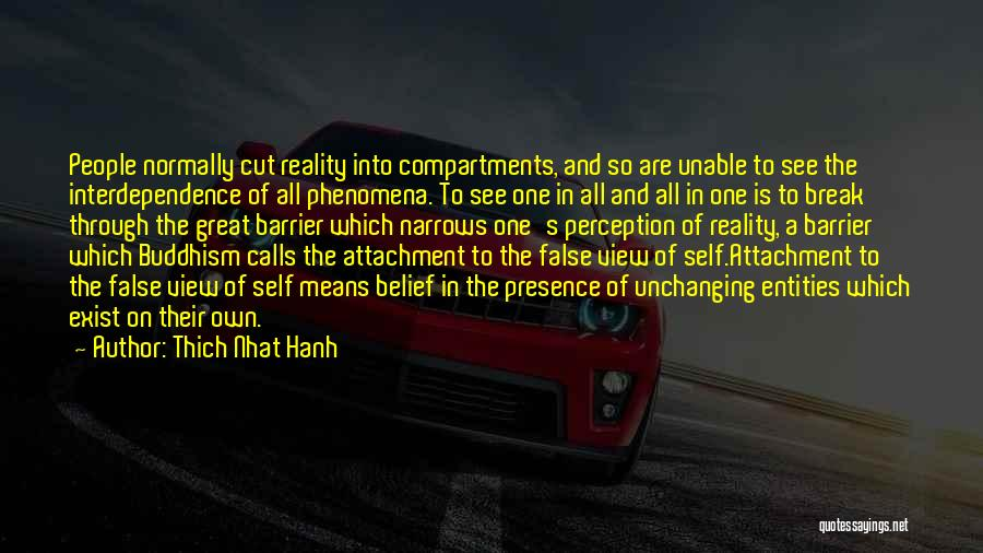 Great View Quotes By Thich Nhat Hanh
