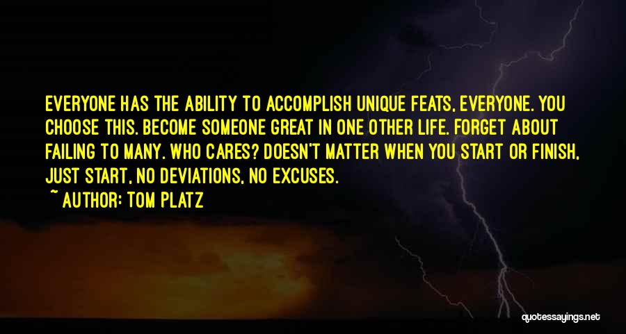 Great Workout Quotes By Tom Platz