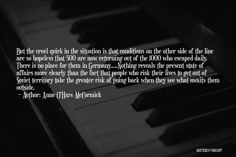 Greater Than Quotes By Anne O'Hare McCormick