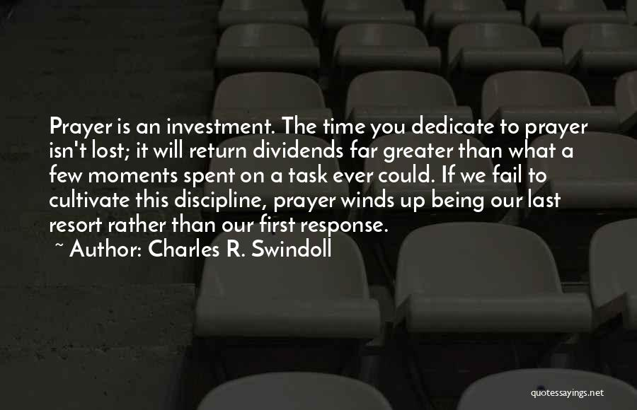 Greater Than Quotes By Charles R. Swindoll