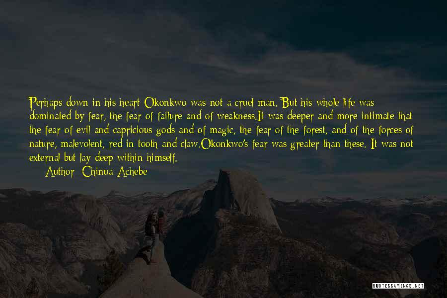 Greater Than Quotes By Chinua Achebe