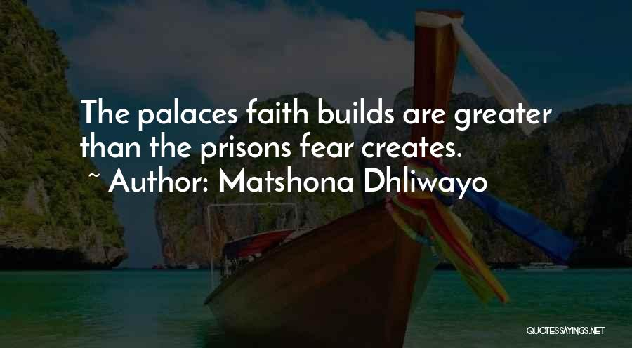 Greater Than Quotes By Matshona Dhliwayo