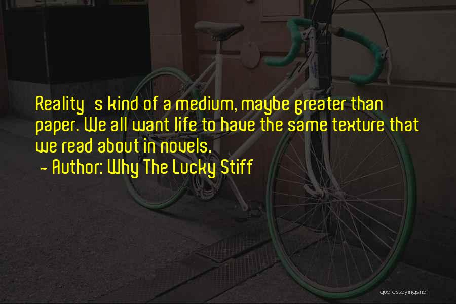 Greater Than Quotes By Why The Lucky Stiff