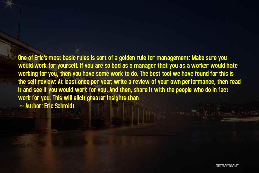 Greater Than Yourself Quotes By Eric Schmidt