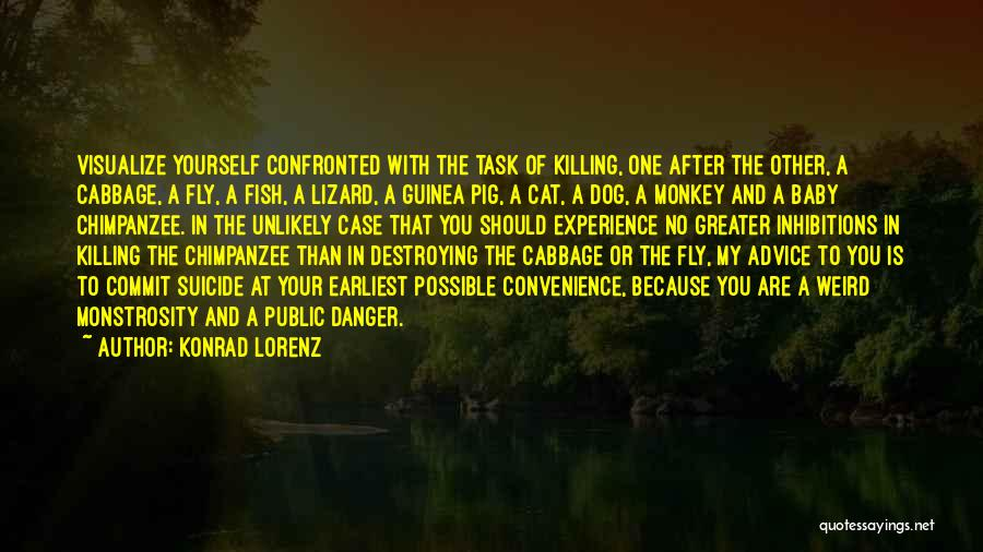 Greater Than Yourself Quotes By Konrad Lorenz