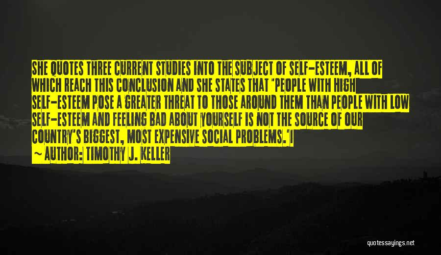 Greater Than Yourself Quotes By Timothy J. Keller