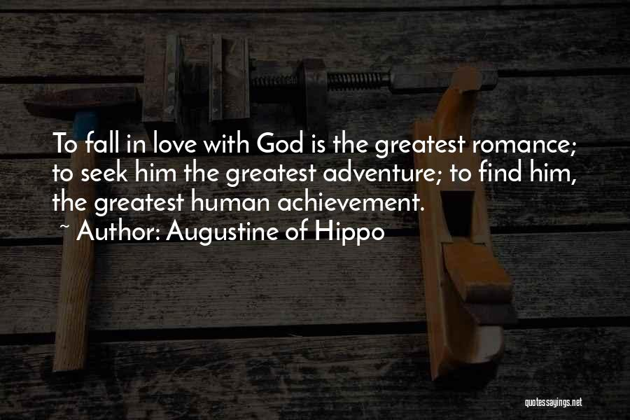 Greatest God Quotes By Augustine Of Hippo