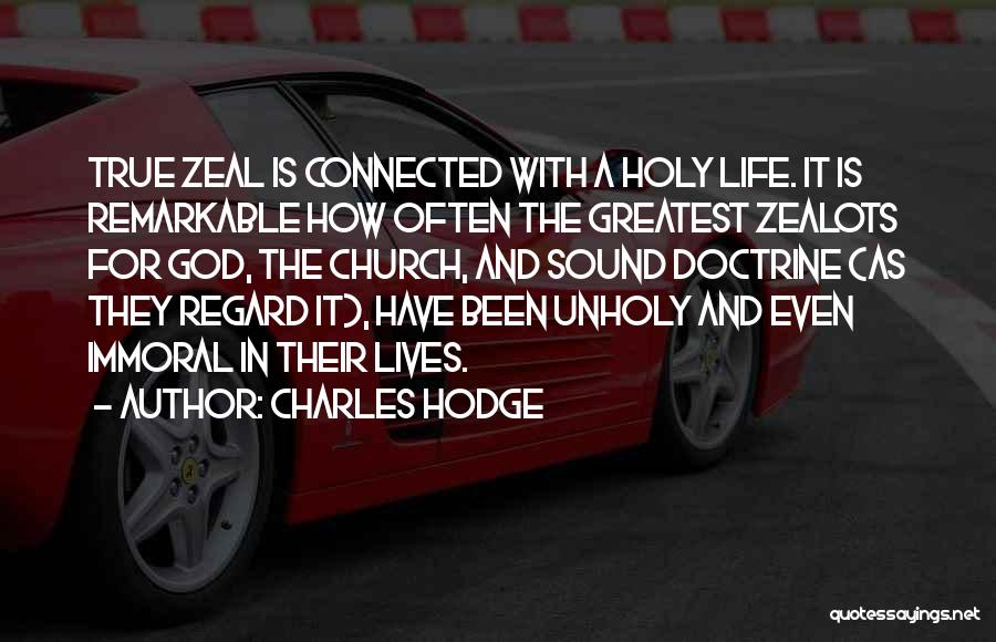 Greatest God Quotes By Charles Hodge