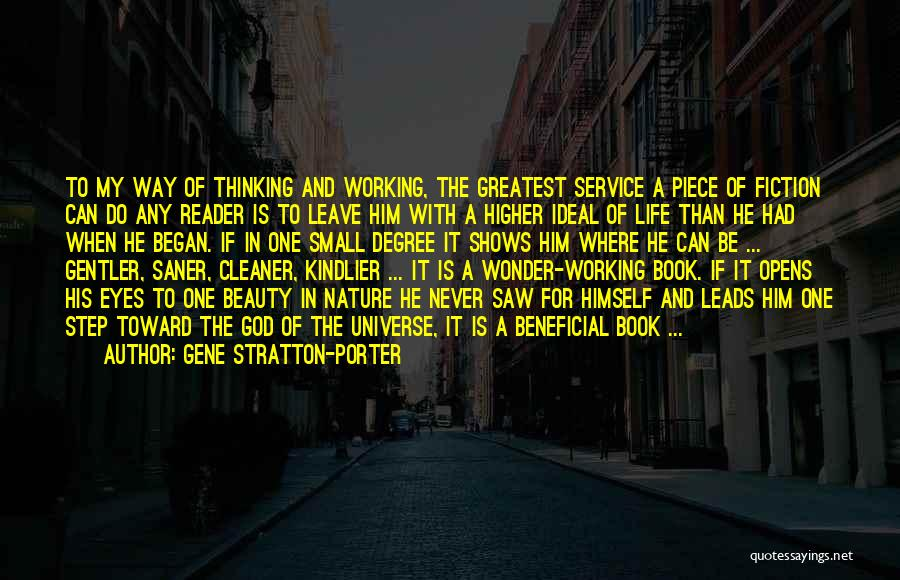 Greatest God Quotes By Gene Stratton-Porter