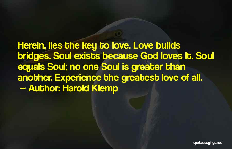 Greatest God Quotes By Harold Klemp