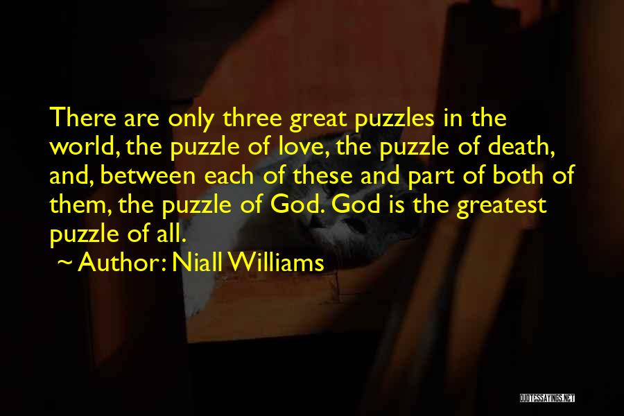 Greatest God Quotes By Niall Williams
