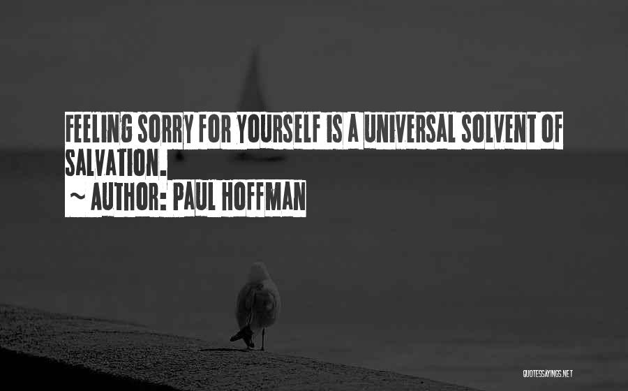 Greatest God Quotes By Paul Hoffman