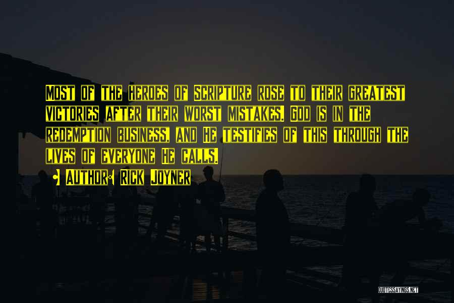 Greatest God Quotes By Rick Joyner