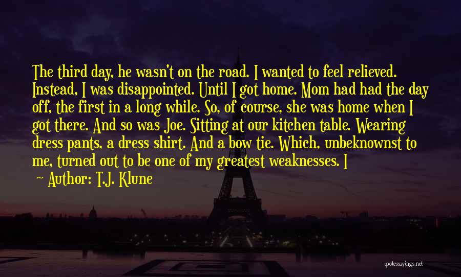 Greatest Mom Quotes By T.J. Klune