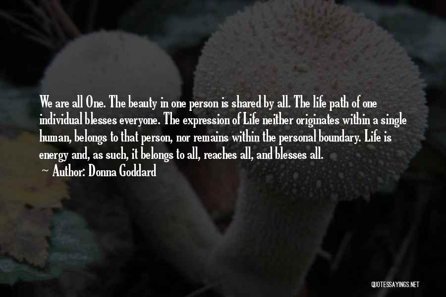 Greatness Of A Person Quotes By Donna Goddard