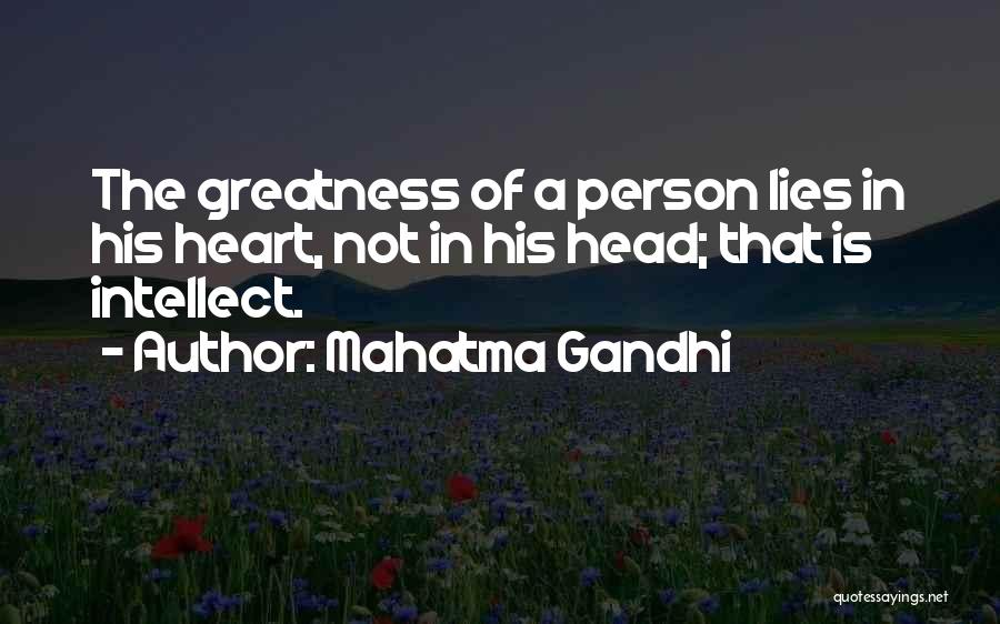 Greatness Of A Person Quotes By Mahatma Gandhi