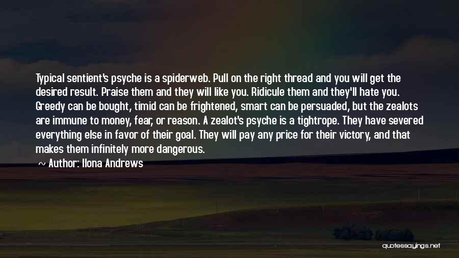 Greedy Quotes By Ilona Andrews