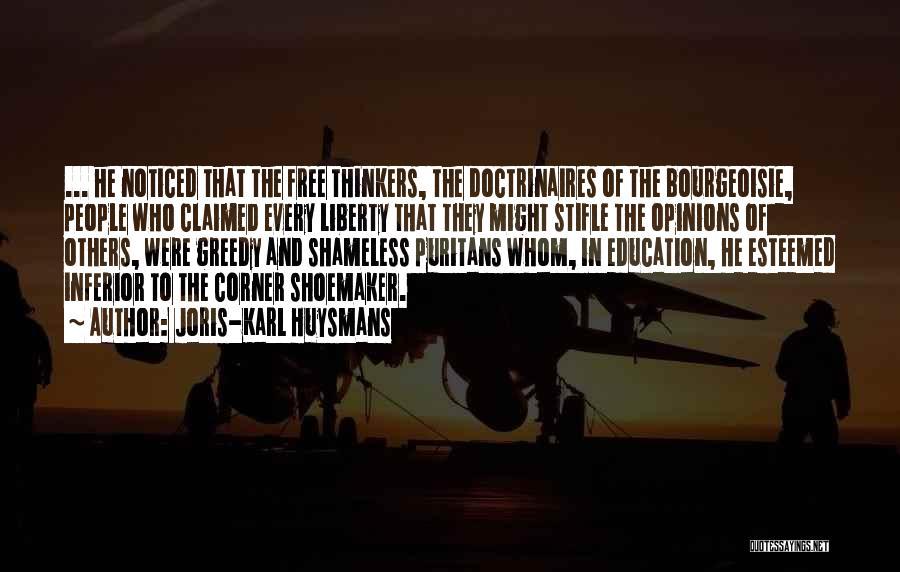 Greedy Quotes By Joris-Karl Huysmans