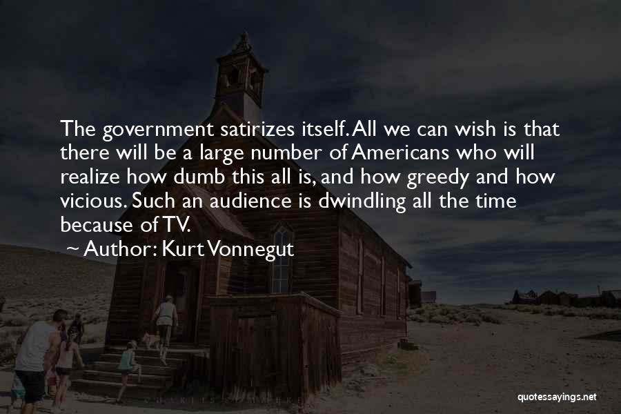 Greedy Quotes By Kurt Vonnegut