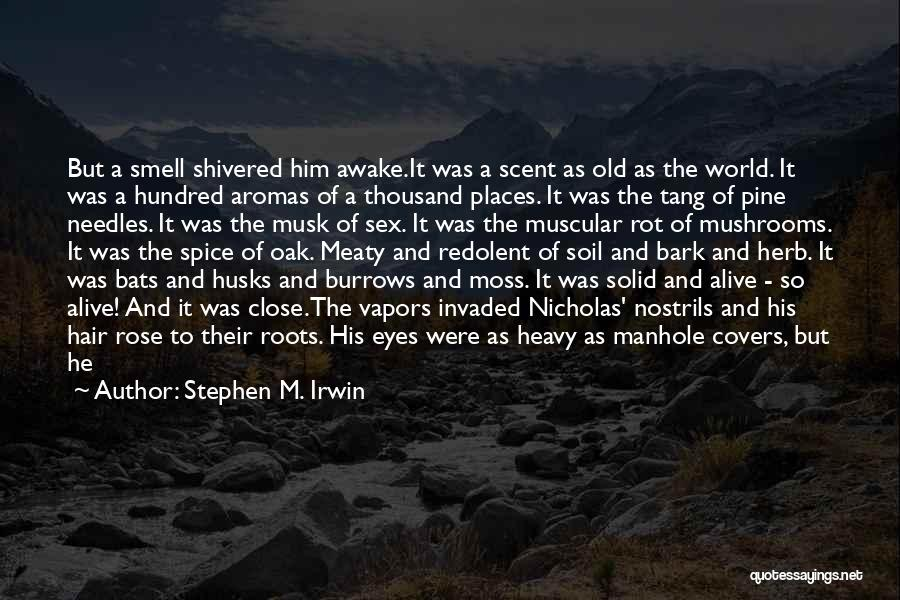 Green Moss Quotes By Stephen M. Irwin