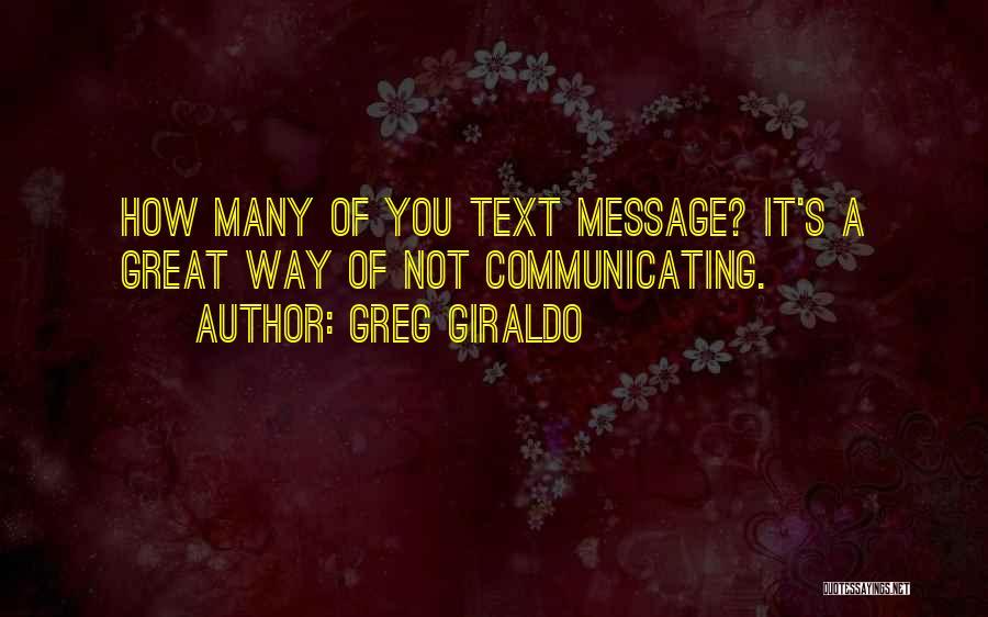 Greg Giraldo Quotes 923409