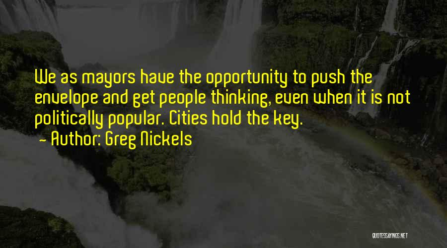 Greg Nickels Quotes 196699