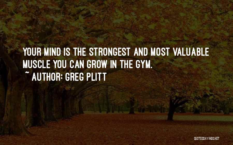 Greg Plitt Quotes 109700