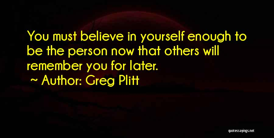 Greg Plitt Quotes 318767