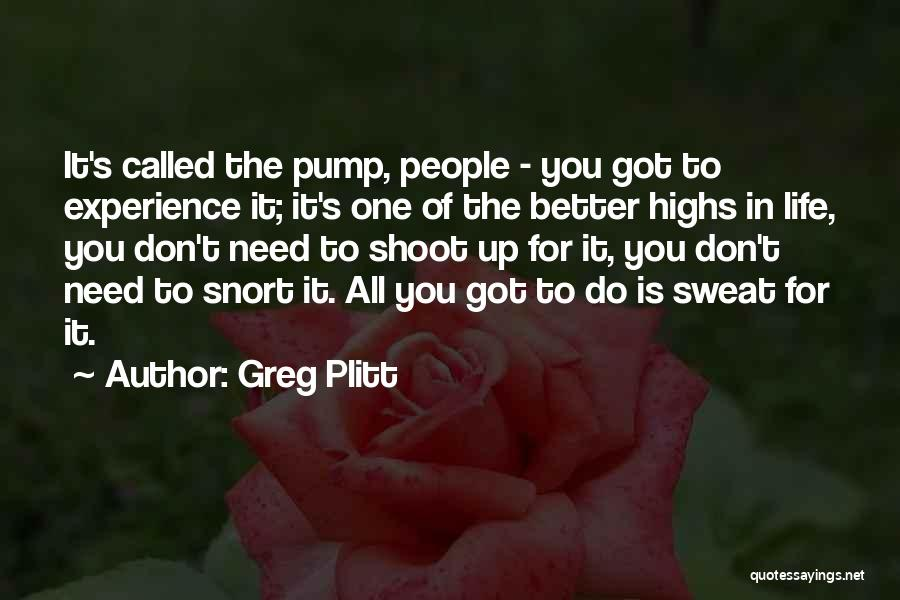 Greg Plitt Quotes 738186