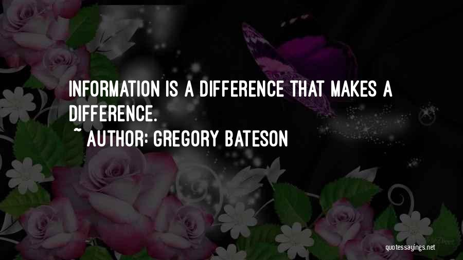 Gregory Bateson Quotes 1081921