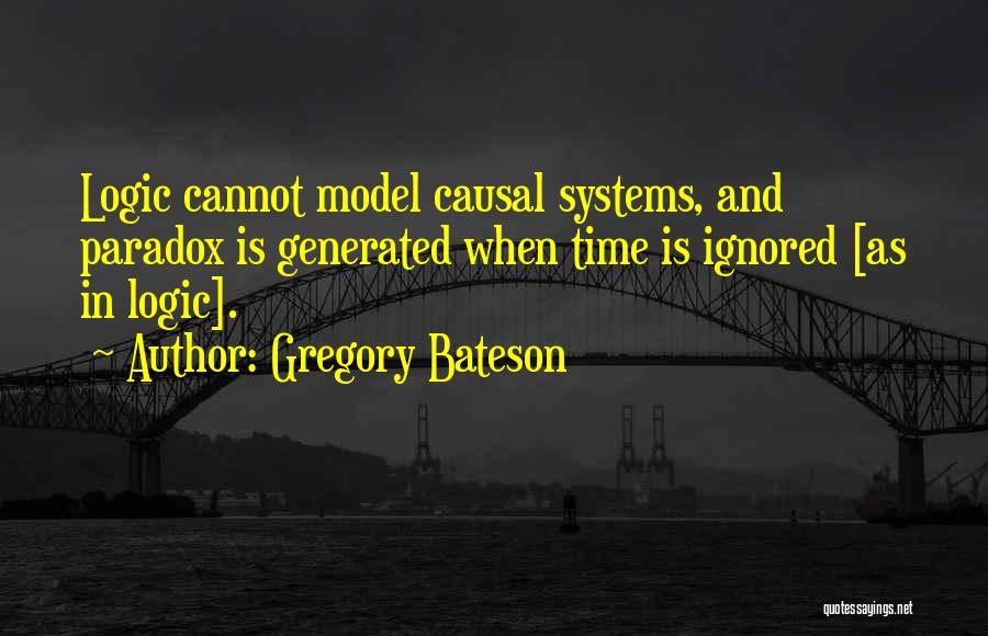 Gregory Bateson Quotes 1384320