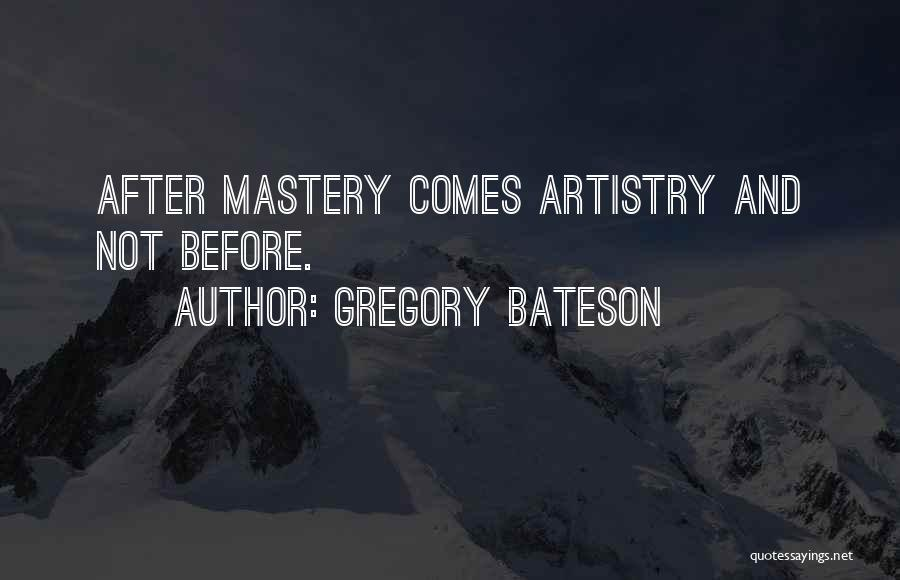 Gregory Bateson Quotes 1438955