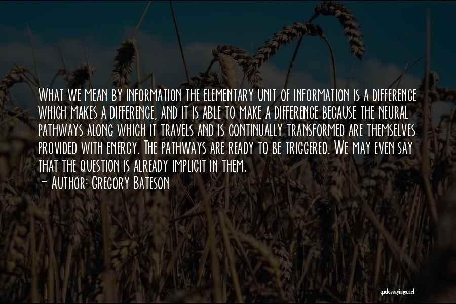 Gregory Bateson Quotes 1439503