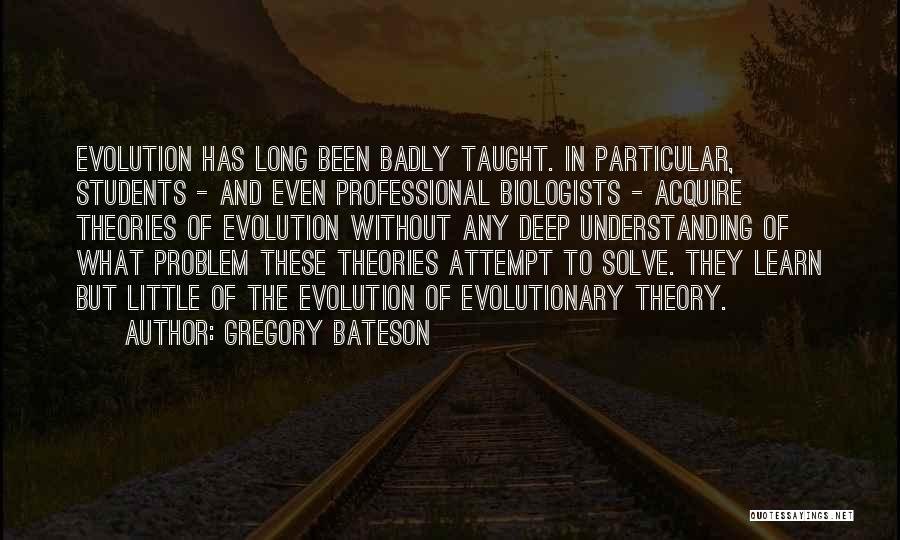 Gregory Bateson Quotes 148889
