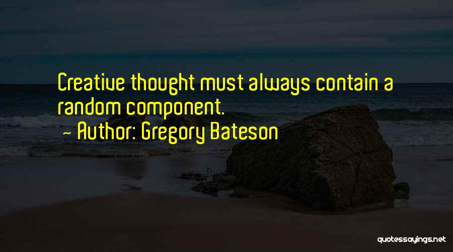 Gregory Bateson Quotes 1498840