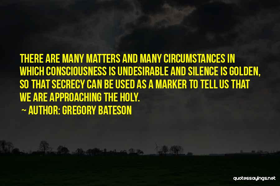 Gregory Bateson Quotes 1784864