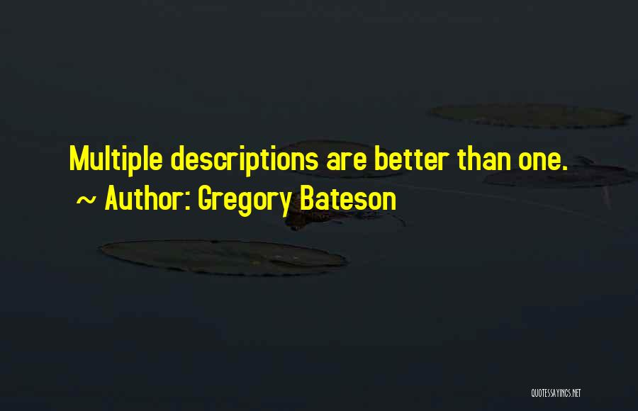 Gregory Bateson Quotes 1797448